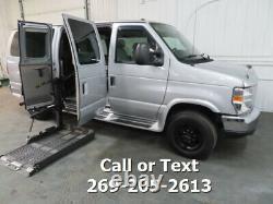 2014 Ford E-Series Cargo Conversion Van Rollx Power Wheel Chair Lift