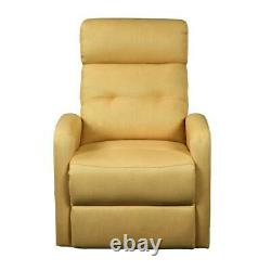 ACME Newat Recliner withPower Lift in Yellow Linen