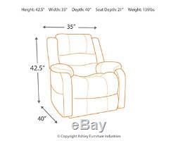 Ashley Furniture Signature Design Yandel Power Lift Recliner Contemporary