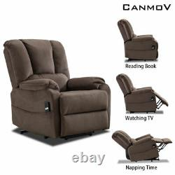 Auto Electric Power Lift Recliner Chair Lounge Sofa seating With remote control