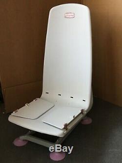 Bath lift chair, Archimedes, by Mangar Intl. Lightweight battery powered