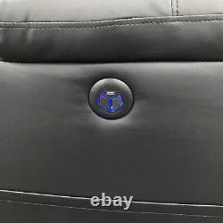 Brand New Folding Electric Power Lift Convertible Sleeper Leather Massage Sofa