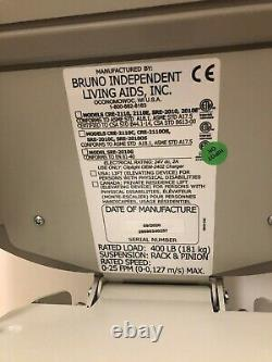 Bruno Elite Curved Chair Lift ONLY 3MO OLD, 180 degree turn, Power Swivel CRE2110