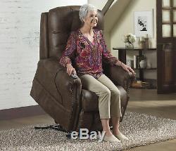 CATNAPPER Ramsey Power Lay Flat Recliner Lift Chair 4857 1227-09 Heat Massage