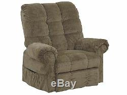 Catnapper Large Scale Omni 4827 Power Lift Chair & Recliner Thistle Green Fabric
