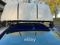 Chair Topper BraunAbility wheelchair storage on car top powered lift