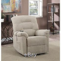 Coaster Power Lift Recliner in Taupe