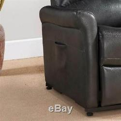 Contemporary Power Reclining Lift Chair in Charcoal ID 3516295
