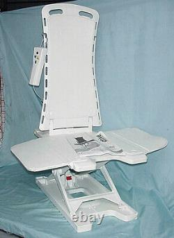 DRIVE Bellavita Portable Power Bath Tub Assist Lift Seat Chair Remote Max 308lbs