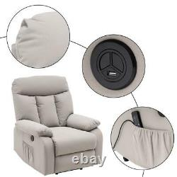 Durable Electric Power Lift Massage Recliner Chair Sofa Furniture withRemote New