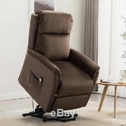 ELECTRIC POWER LIFT RECLINER CHAIR ELDERLY ARMCHAIR LOUNGE SEAT WithREMOTE SOFA