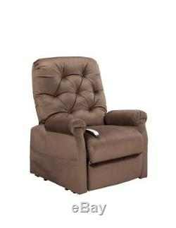 Easy Comfort NM-200 Otto power lift chair, 3-position chaise recliner. Chocolate