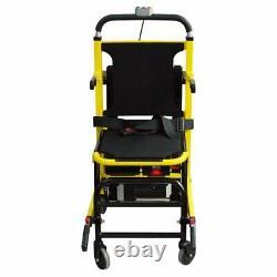 Elderly Wheelchair Stair Lifting Chair Motorized Power Climbing Lift F/ Disabled
