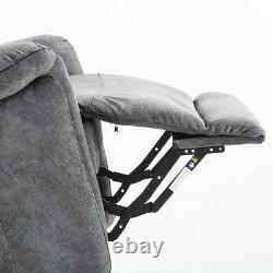 Electric Lift Assist Recliner Chair Powered Tilt Control Sofa with Remote Control