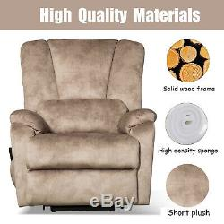 Electric Lift Chair Power Recliner for Elderly American Living Room Padded Sofa