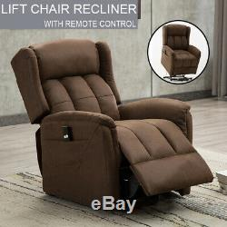 Electric Power Lift Chair Recliner Armchair Sofa Heavy Duty Sleeper Bed Elderly
