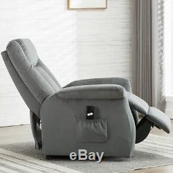 Electric Power Lift Chair Recliner Armchair Sofa Seat Lounge Furniture Chaise US