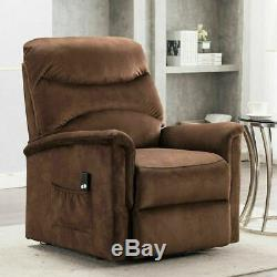Electric Power Lift Chair Recliner For Elderly Armchair Living Room Sofa Seater