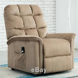 Electric Power Lift Chair Recliner Heavy Duty Reclining Sofa for Elderly Bedroom