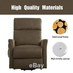 Electric Power Lift Chair Recliner Help Stand For Elderly Living Room Armchair