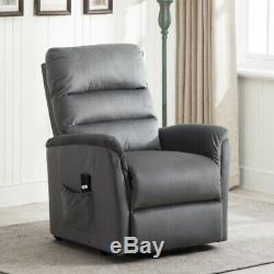 Electric Power Lift Chair Recliner Sofa Lounge Chair Living Room +Remote Control