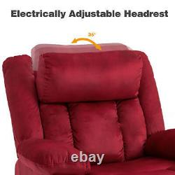 Electric Power Lift Massage Chair Recliner Elderly Armchair with Heating System
