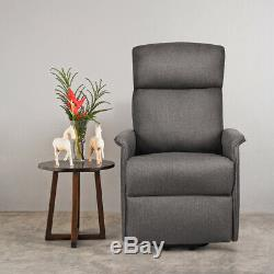 Electric Power Lift Massage Chair Recliner Sofa Fabric Padded Seat withRemote Home