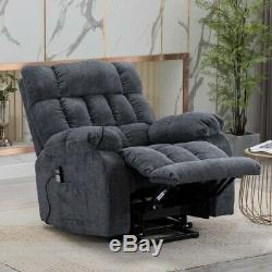 Electric Power Lift Massage Recliner Chair Heat Vibration Theater Lounge Chair