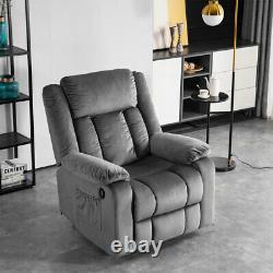 Electric Power Lift Massage Recliner Chair Soft for Elderly Sofa Heat Vibration