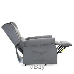 Electric Power Lift Massage Recliner Sofa Chair Vibration withRemote Control New