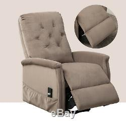 Electric Power Lift Recliner Chair Armchair Lounge Seat Sofa with RC