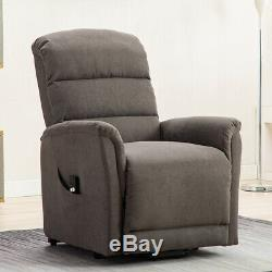 Electric Power Lift Recliner Chair Elderly Armchair Remote Living Room Furniture