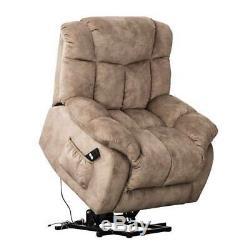 Electric Power Lift Recliner Chair Elderly Living Room Oversized Recliner Sofa