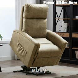 Electric Power Lift Recliner Chair For Elderly Padded Seat Lounge Sofa Chairs RC