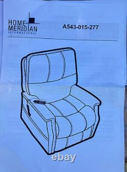Electric Power Lift Recliner Chair Leatherette Large Elderly Reclining Armchair