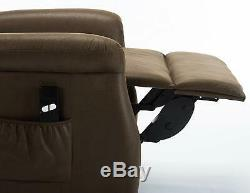 Electric Power Lift Recliner Chair Padded Sofa Upgrade Motor Xmas Gift For Eldly