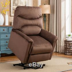 Electric Power Lift Recliner Chair Upgraded Safe Motor Remote Control for Eldly