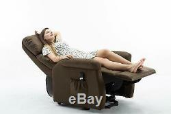 Electric Power Lift Recliner Chair for Elderly Lounge Sofa Seat WithRemote Control