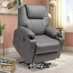 Electric Power Lift Recliner Chair for Elderly Massage and Heat Sofa