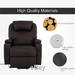 Electric Power Lift Recliner Chair for Elderly Safety Motion Reclining Sofa Seat