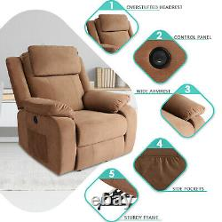 Electric Power Lift Recliner Chair for Elderly With Massage Heat Remote USB Port