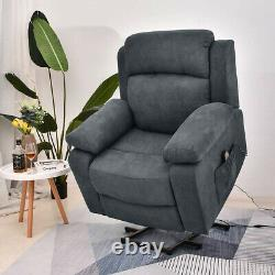Electric Power Lift Recliner Chair for Elderly with Massage and Heat withUSB Port