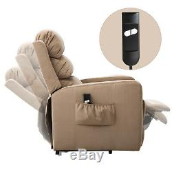 Electric Power Lift Recliner Modern Living Room Bedroom Chair Sofa for Elderly