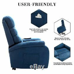 Electric Power Lift Recliner Sofa Chair Living Room Chair Motorized Single Chair
