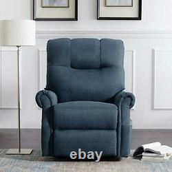 Electric Recliner Chair Lazy Sofa for Elderly, Power Lift (Bluish Grey)