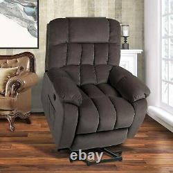 For Elderly Electric Power Lift Recliner Chair Massage Heated Vibration Oversize