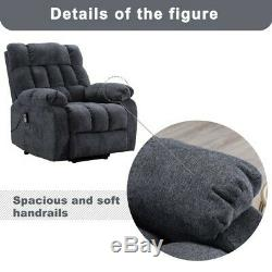 Full Body Auto Electric Power Lift Massage Heat Recliner Chair Vibration Control