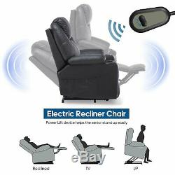 Furgle Power Lift Recliner Chair with Massage Heat and Vibration Elderly 5 Modes