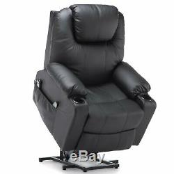 Furgle Power Lift Recliner Chair with Massage Heat and Vibration Elderly Massage