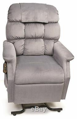 Golden Cambridge 3 Position Electric Recliner Power Lift Chair with Chaise S/M